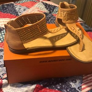 Ladies size 8 sandals